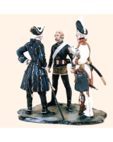 VG90 02 The Brave Hussar a stirring incident of the Seven Years War Painted